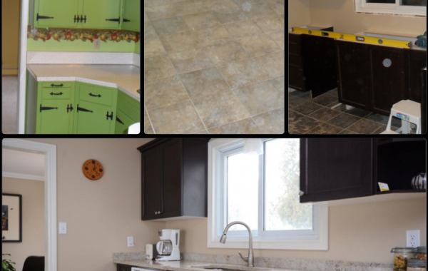 Kitchen Renovation – Before, During & After